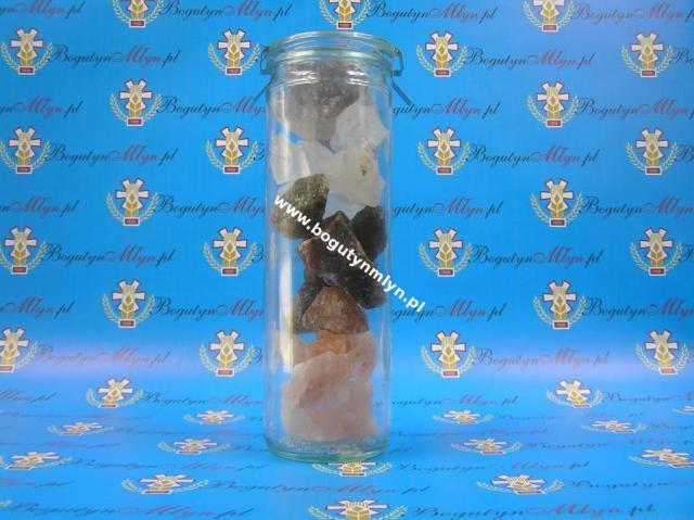 Solanka do picia - Sól himalajska, alpejska, perska i kamienna w słoiku